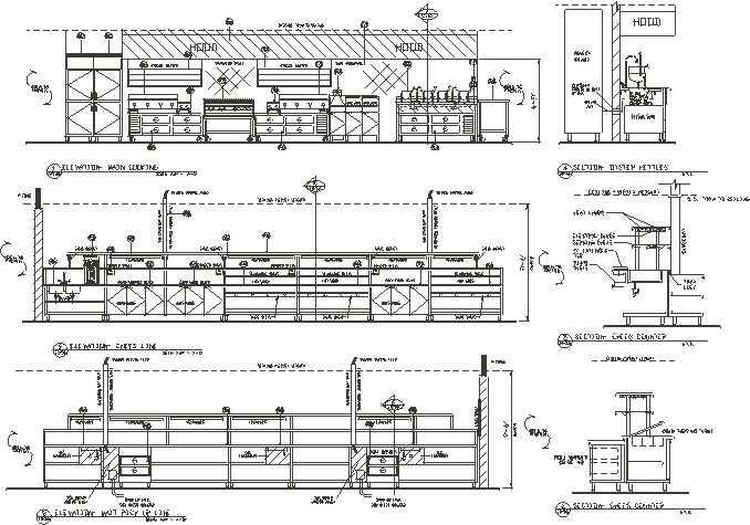Impressive Kitchen Elevation Drawings 678 x 475 · 55 kB · jpeg
